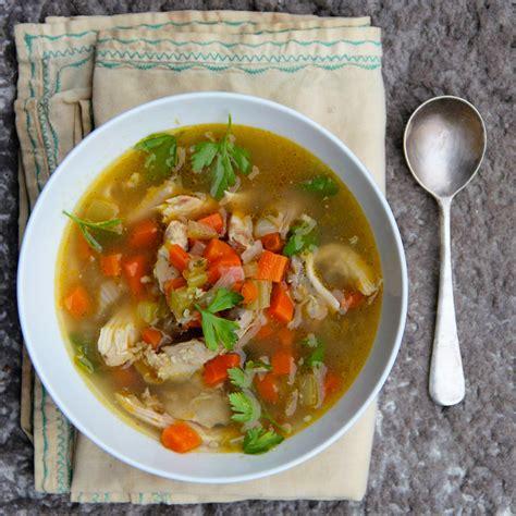 slow cooker turkey soup recipe ian knauer food wine