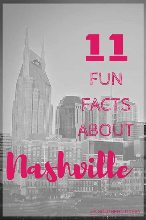 fun facts  nashville