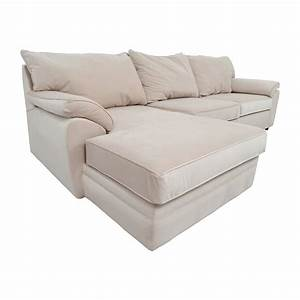 33 off bob39s furniture bob furniture off white right for Bobs sectional sofa bed