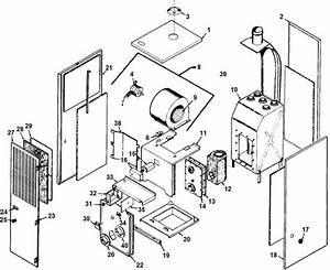 Intercity Furnace Parts Diagram