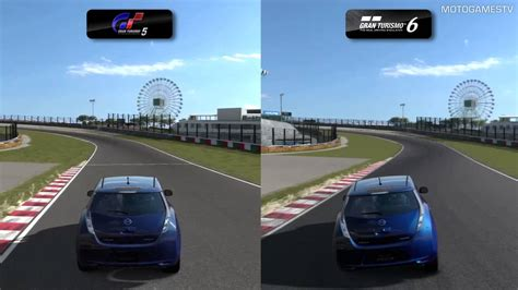 Forza Vs Gran Turismo Realism by Gran Turismo 5 Vs Gran Turismo 6 Demo Suspension Physics