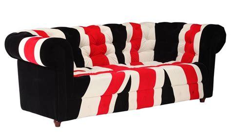 Velvet Union Jack Furniture