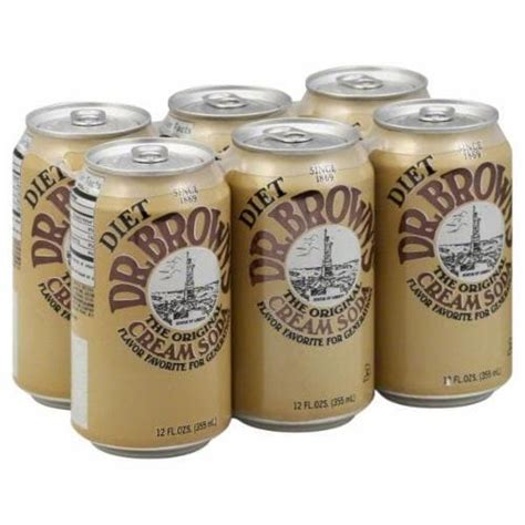 You can also swap out milk or cream for soy milk, almond milk or rice milk. Kroger - Dr. Brown's Diet Cream Soda, 6 cans / 12 fl oz