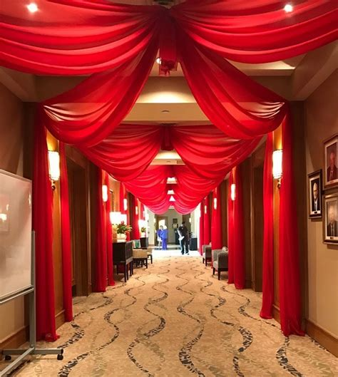 How To Hang Ceiling Drapes For Events - ceiling draping and treatment in college station at