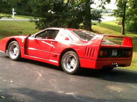 F40 Kit Car by Replica Kit Makes Coupe 1987 For Sale