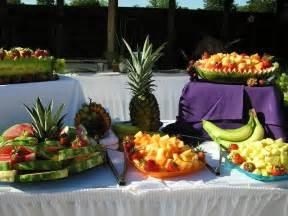Luau Wedding Reception Food