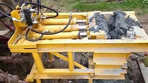 Farm Built Concrete Crusher