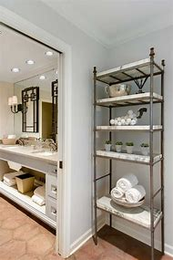 Metal Etagere Bathroom