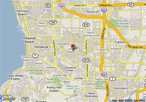 map of travelodge torrance torrance