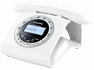 Telefon Weiß Schnurlos : simvalley retro dect schnurlostelefon mit anrufbeantworter wei ~ Eleganceandgraceweddings.com Haus und Dekorationen