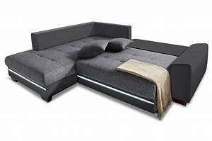 Sofa Mit Led Und Sound : polsterecke nikita mit bett led und sound sofas zum halben preis ~ Indierocktalk.com Haus und Dekorationen