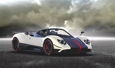 Zonda Cinque Roadster Revealed