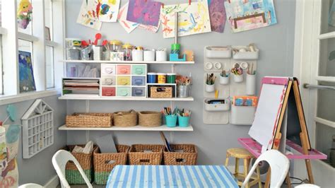 Benefits Of An Organized Art Area-the Art Pantry