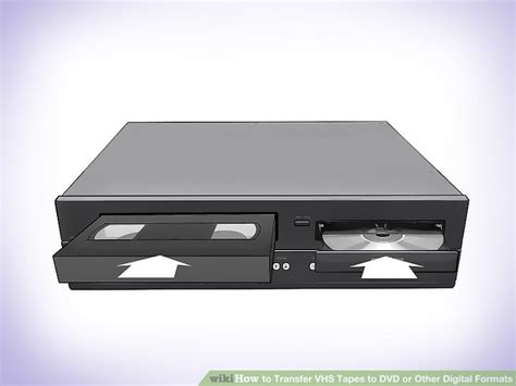 Convertitore Cassette Vhs In Dvd by 3 Ways To Transfer Vhs To Dvd Or Other Digital Formats