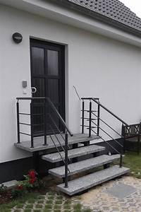 Treppe 3 Stufen Aussen : au entreppen eingangstreppe f r haus und garten treppen st bing ~ Frokenaadalensverden.com Haus und Dekorationen