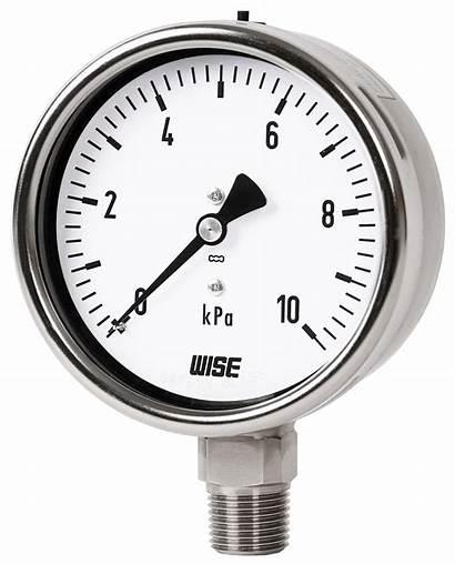 Pressure Gauge Low P422 Wise Capsule System