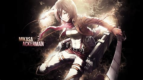 Anime Wallpaper Attack On Titan - attack on titan mikasa ackerman wallpapers 82 images