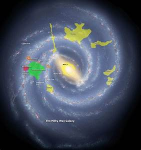 Map of Exoplanets in Milky Way - Pics about space