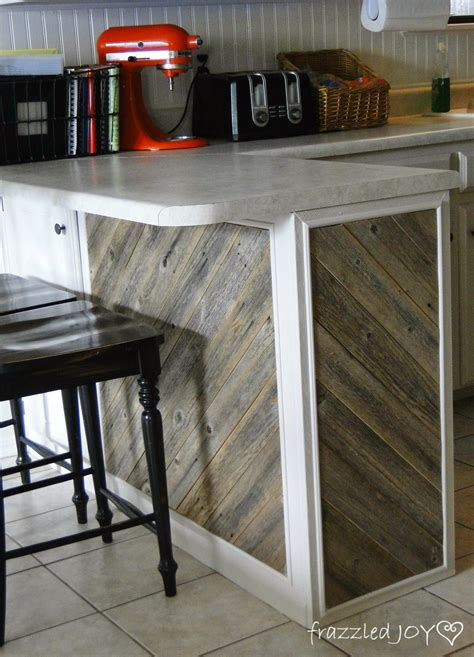 salvaged wood kitchen island remodelaholic diagonal planked reclaimed wood kitchen island