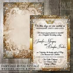 royal wedding invitation vintage fairytale royal wedding invitation by oddlotpaperie