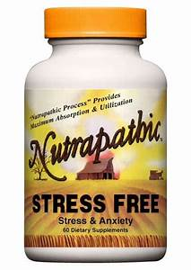 Stress Relief Supplement  Natural  Herbal Stress Relief