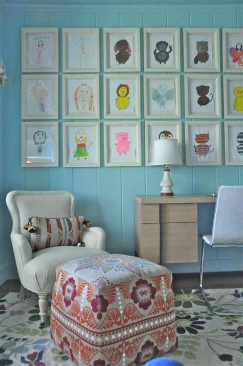 diy deko mit kinderzeichnungen inspiration und kreative