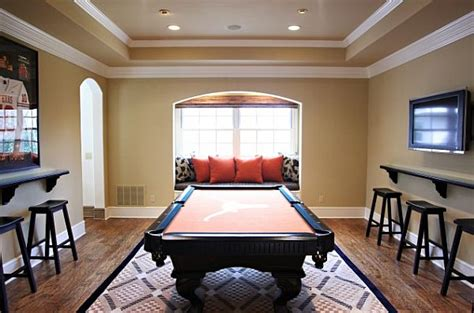 Dining Room Pool Table Combo by Inspiring Game Rooms Decorating Ideas