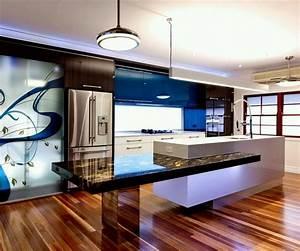 new home designs latest ultra modern kitchen designs ideas With contemporary modern kitchen design ideas