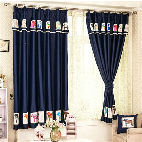 navy blue patterned curtains duck egg blue patterned