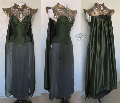 Lady Loki Costume For The Labyrinth Of Jareth Masquerade