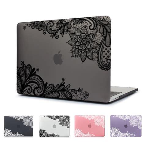 lovely lace design matte laptop cover case   macbook