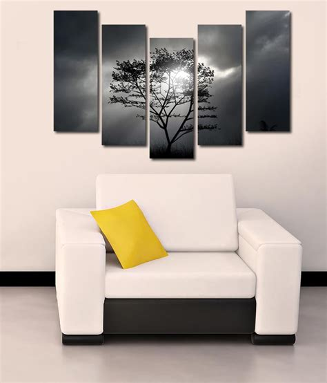 store glossy printed tree  modern wall art painting
