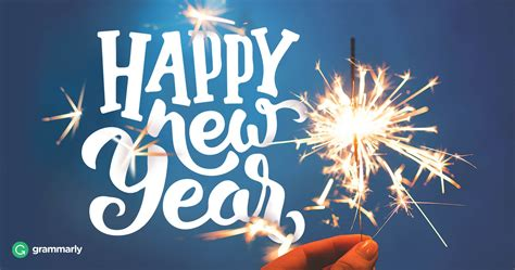 Happy New Year, New Year's, Or New Years? Which Is Correct? Grammarly