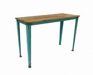 Mesas con mucho encanto 13 ideas para combinar Hierro y madera