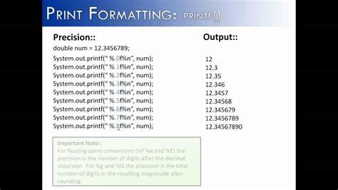 java print double  decimal