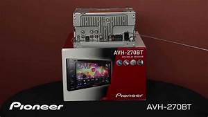 Avh-270bt What U0026 39 S In The Box