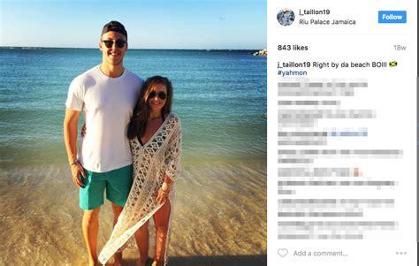 jameson taillons girlfriend claire petratis playerwivescom