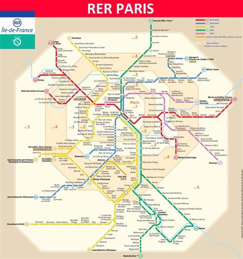 ratp si鑒e plan du rer metro map info