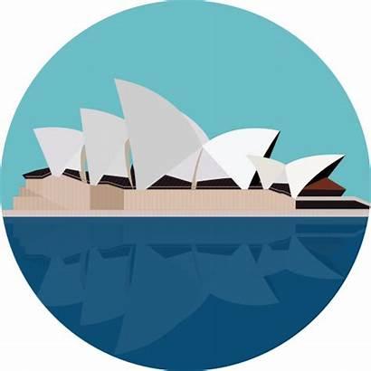 Opera Sydney Icon Svg Icons Vector Monuments