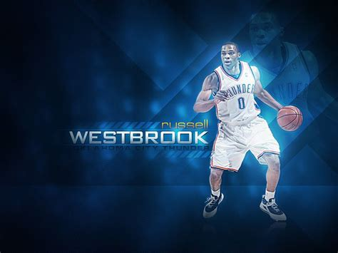 nba thunder russell westbrook photo  wallcoonet