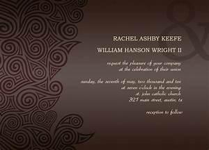 post wedding reception invitation templates With examples of post wedding reception invitations