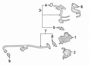 Ford F-150 Egr Pipe  Tube