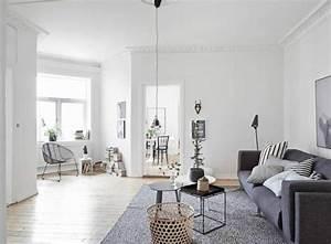 Décoration Appartement Moderne : appartement moderne au design scandinave vivons maison ~ Nature-et-papiers.com Idées de Décoration