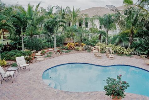 tropical pool landscaping south florida landscaping tropical pool miami by bamboo landscaping and services inc