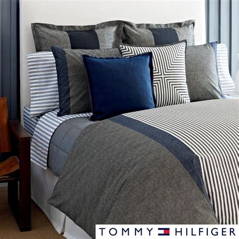 Best Deals On Duvets by Hilfiger Country Chic 3 Cotton Comforter Set