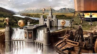 Medieval Wallpapers 4k Desktop Background Fantasy Scene