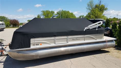 Boat Canvas Extension Snaps by Custom Sunbrella Boat Cover Pontoon Playpen Cover With