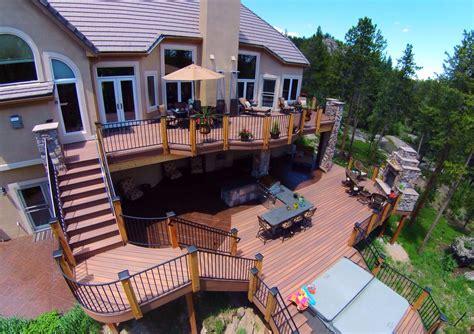 Home Deck Design Ideas by Decks Deck Railing Ideas
