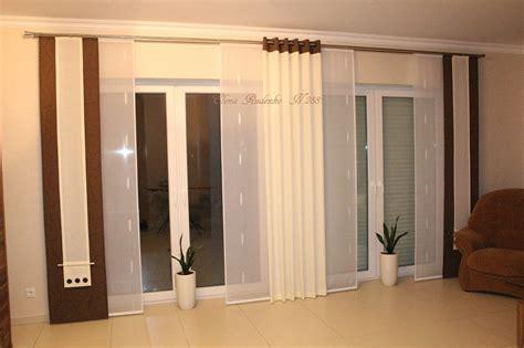 ideen für schiebevorhänge fensterdekoration gardinen wohnzimmer free