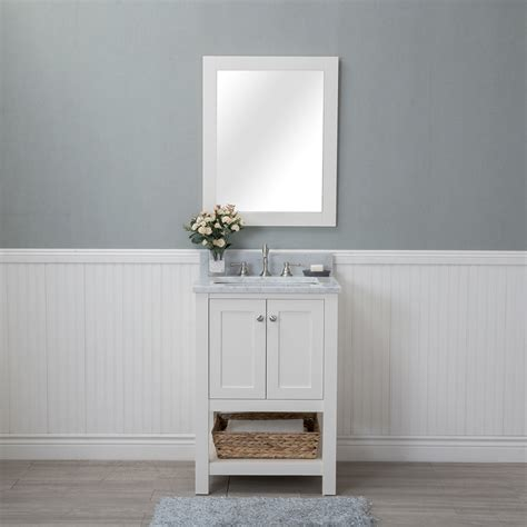 bath vanities alya bath wilmington 24 in single bathroom vanity in
